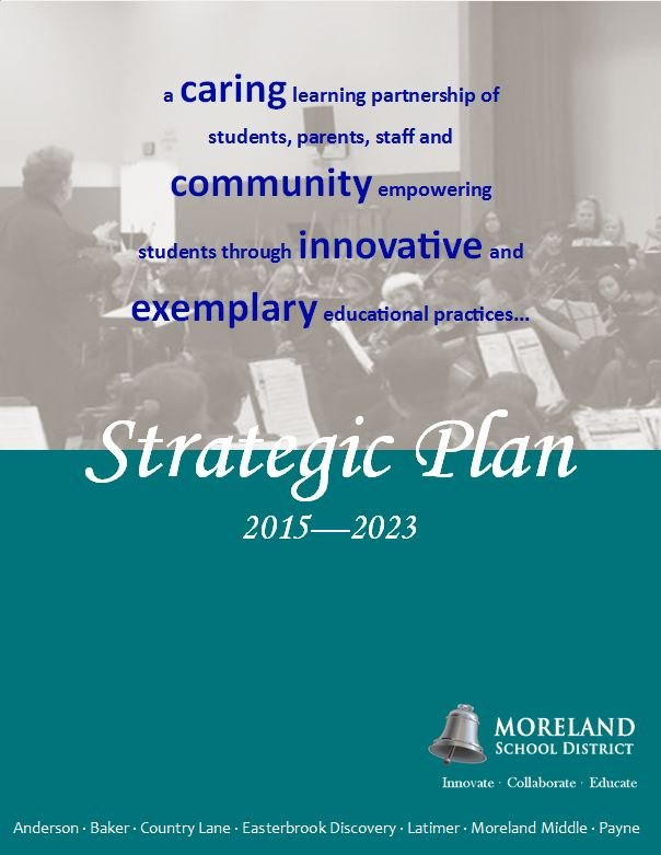 Strategic Plan  About Us  Moreland School District